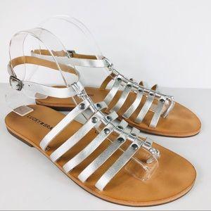Lucky Brand Silver Cymaa Gladiator Sandal